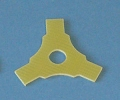 3 blades pusher folding prop stopper