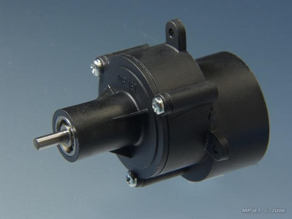 Gearbox 2 33 1 With Ball Bearing For Motor 400 Size
