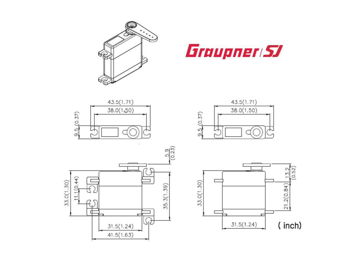 Des 448 Bbmg Torque 95mm Digital Servo For Case Wiring Diagram