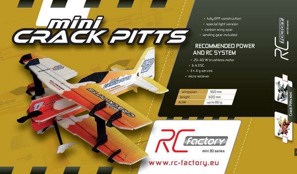 rc factory - mini crack yak epp - 600mm