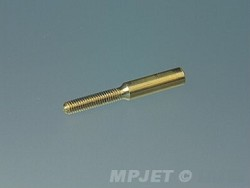 Threaded brass coupler, M2