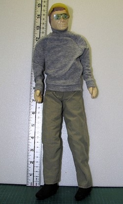 1:5 scale glider pilot, light weight style